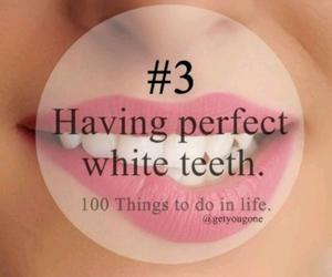 3, 100 things, and teeth image