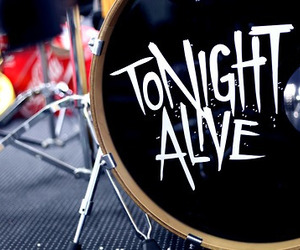 drums and tonight alive image