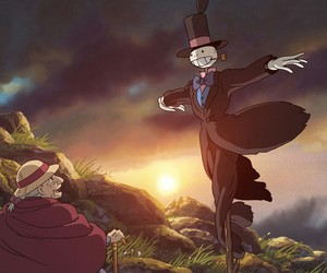 howl's moving castle and turnip head image