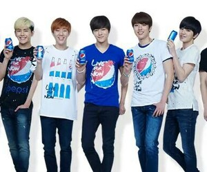 infinite, kpop, and Pepsi image