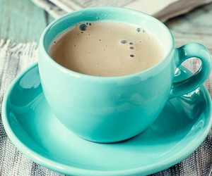 blue, coffee, and cup image