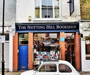 book, bookstore, and Notting Hill image