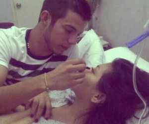 couple, love, and hospital image