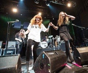 florence welch, music, and haim image