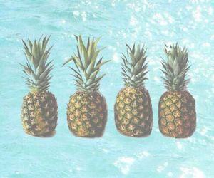 nature, water, and ananas image