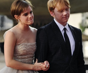 hp, rupert and emma, and ron and hermione image