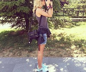Balenciaga, cool, and girl image