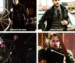 hook, Jamie Dornan, and once upon a time image