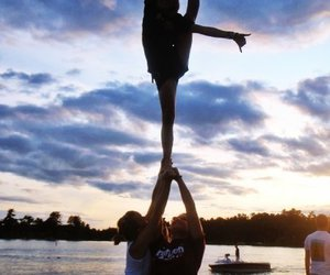 cheer and beach image