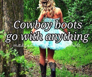 boots, cowboy boots, and Cowgirl image