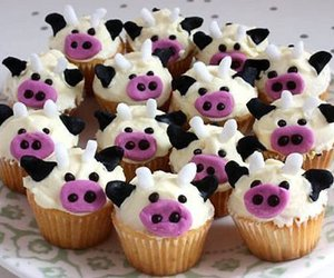 cupcake and cows image