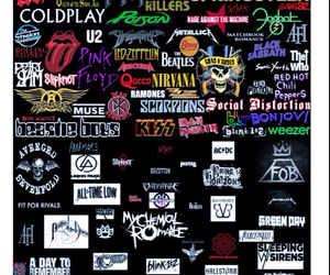 ACDC, all time low, and avenged sevenfold image