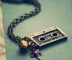 necklace, music, and pretty image