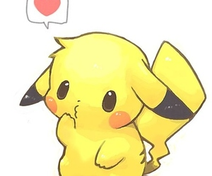 pikachu, pokemon, and kawaii image