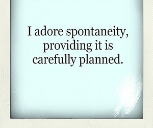adore, quote, and spontaneity image
