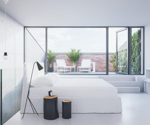bedroom, clean, and design image