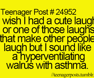 funny, teenager post, and laugh image