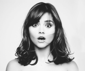 Jenna Coleman Black And White