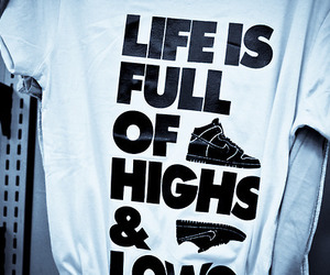 nike, life, and shoes image