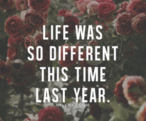 different, time, and life image