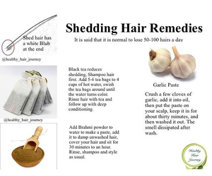 natural hair care, healthy hair care, and shedding image