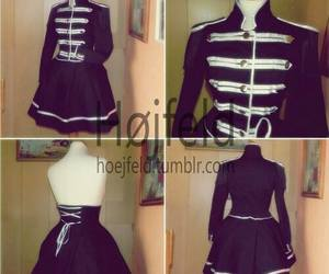 my chemical romance, dress, and the black parade image