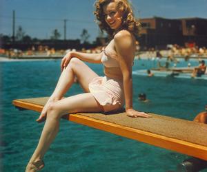 Marilyn Monroe, vintage, and summer image