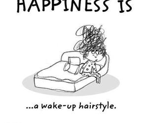 hairstyle and happiness is image