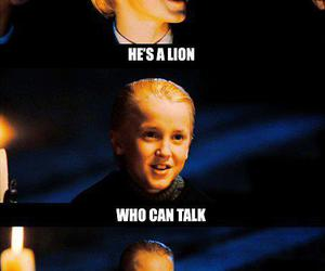 a very potter musical, draco malfoy, and harry potter image