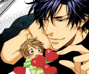 manga, yaoi, and ♥ image