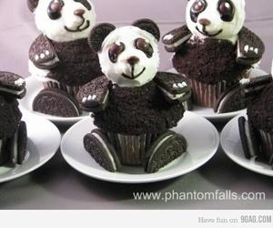 oreo, panda, and cupcake image