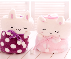 kawaii, cute, and blanket image