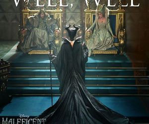 Queen, angelinajolie, and maleficent image