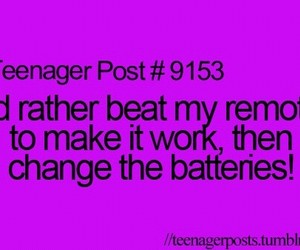 funny, teenager post, and remote image