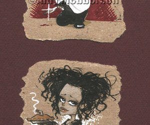 helena, johnny depp, and cute image