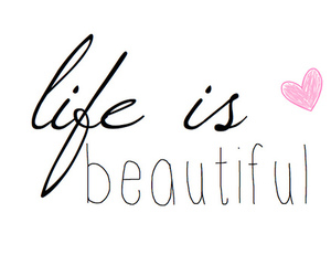 life, beautiful, and quote image