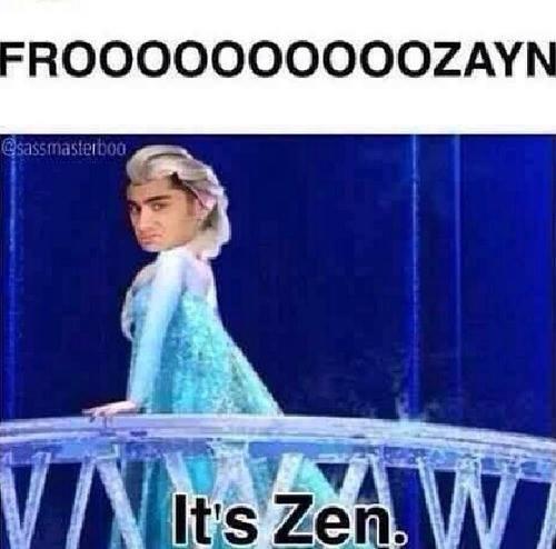 frozen, zayn malik, and one direction image