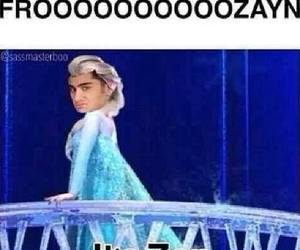 frozen, zayn malik, and one direction image