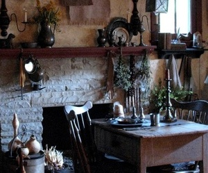 herbs, room, and witch image
