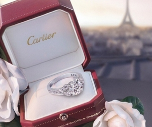 cartier, ring, and paris image