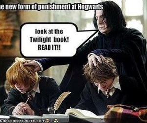 harry potter, twilight, and snape image