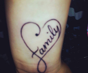 tattoo family heart image