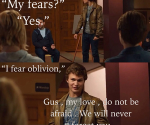 fears, isaac, and the fault in our stars image