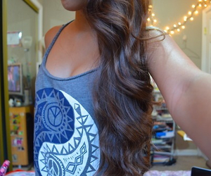 fashion, hairstyle, and girl image
