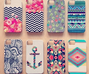 cases, colourfull, and phone image