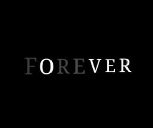 black & white, forever, and light image