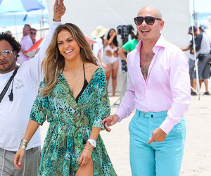 beach, Jennifer Lopez, and we are one image