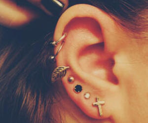 Dream, ear, and piercing image