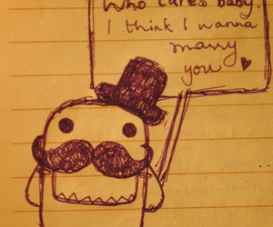 domo, cute, and marry image