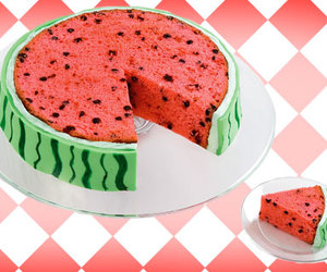 cake, food, and watermelon image